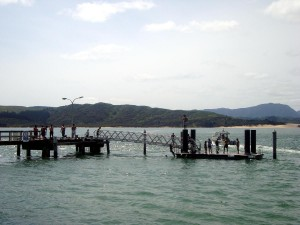Opononi wharf
